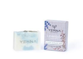 Levanduľové mydlo s ovseným mliekom a vločkami